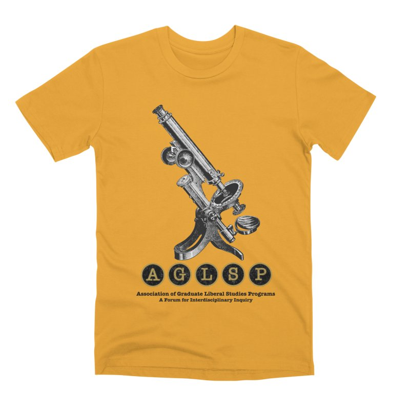 Microscopes Are Us! A New AGLSP Design Men's Premium T-Shirt by AGLSP's Swag Shoppe
