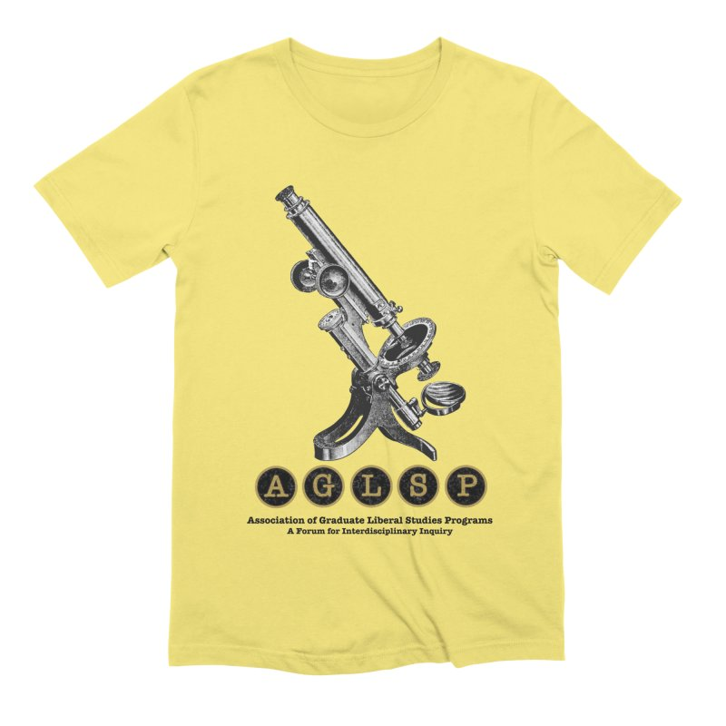 Microscopes Are Us! A New AGLSP Design Men's Extra Soft T-Shirt by AGLSP's Swag Shoppe
