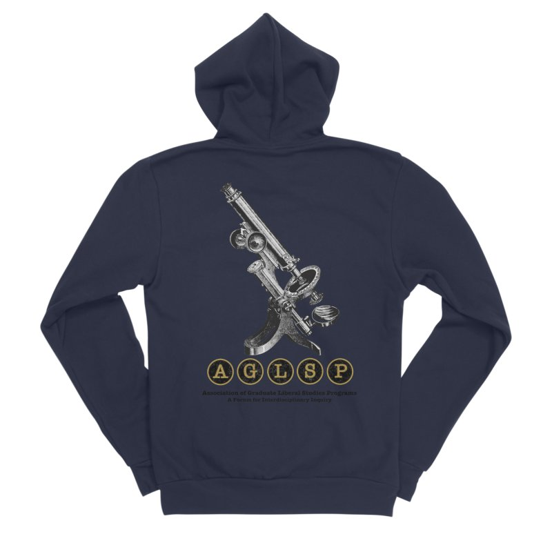 Microscopes Are Us! A New AGLSP Design Men's Sponge Fleece Zip-Up Hoody by AGLSP's Swag Shoppe