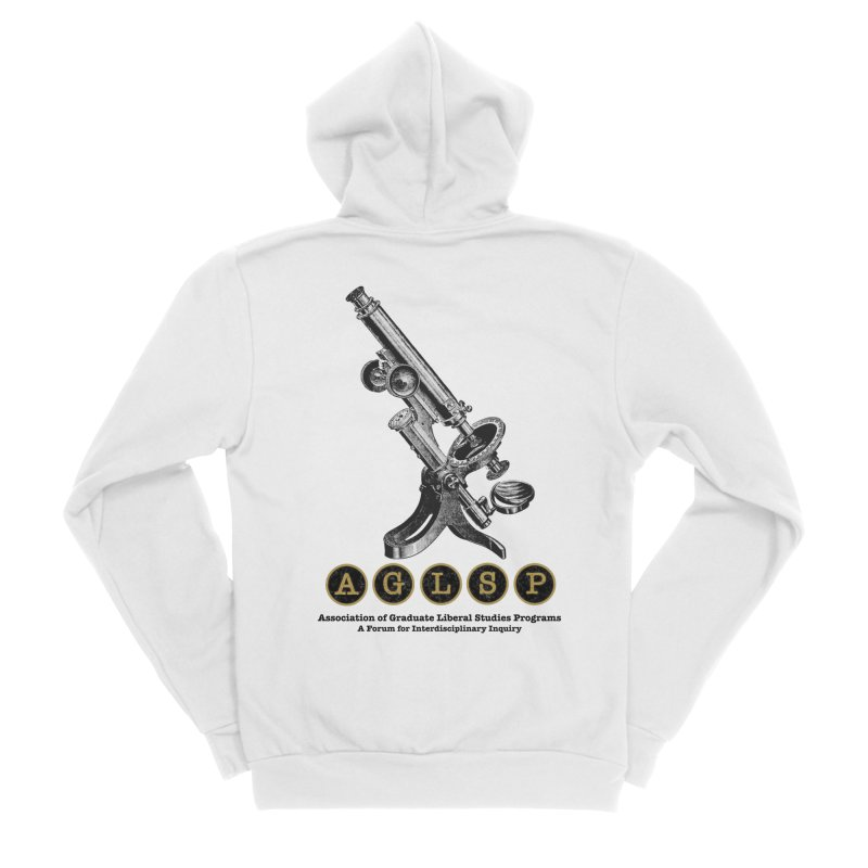 Microscopes Are Us! A New AGLSP Design Women's Sponge Fleece Zip-Up Hoody by AGLSP's Swag Shoppe