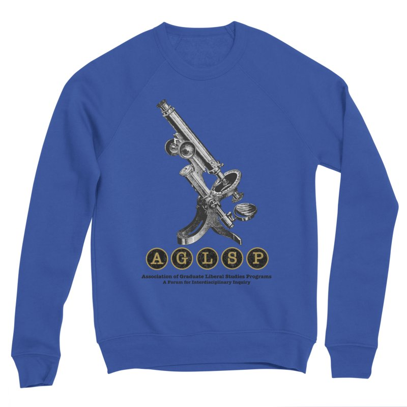 Microscopes Are Us! A New AGLSP Design Men's Sponge Fleece Sweatshirt by AGLSP's Swag Shoppe