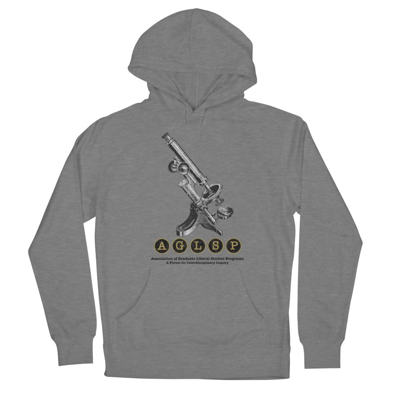 Microscopes Are Us! A New AGLSP Design Men's French Terry Pullover Hoody by AGLSP's Swag Shoppe