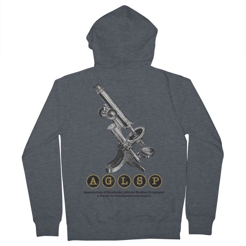 Microscopes Are Us! A New AGLSP Design Women's French Terry Zip-Up Hoody by AGLSP's Swag Shoppe