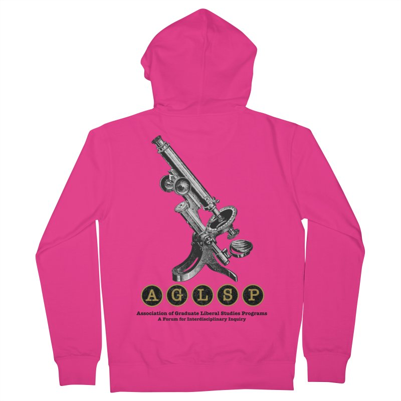 Microscopes Are Us! A New AGLSP Design Men's French Terry Zip-Up Hoody by AGLSP's Swag Shoppe