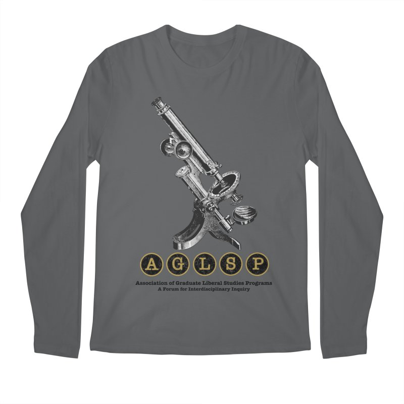 Microscopes Are Us! A New AGLSP Design Men's Regular Longsleeve T-Shirt by AGLSP's Swag Shoppe