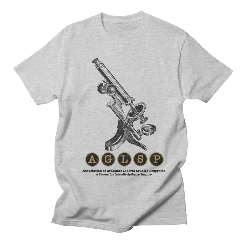 Microscopes Are Us! A New AGLSP Design Men's Regular T-Shirt by AGLSP's Swag Shoppe