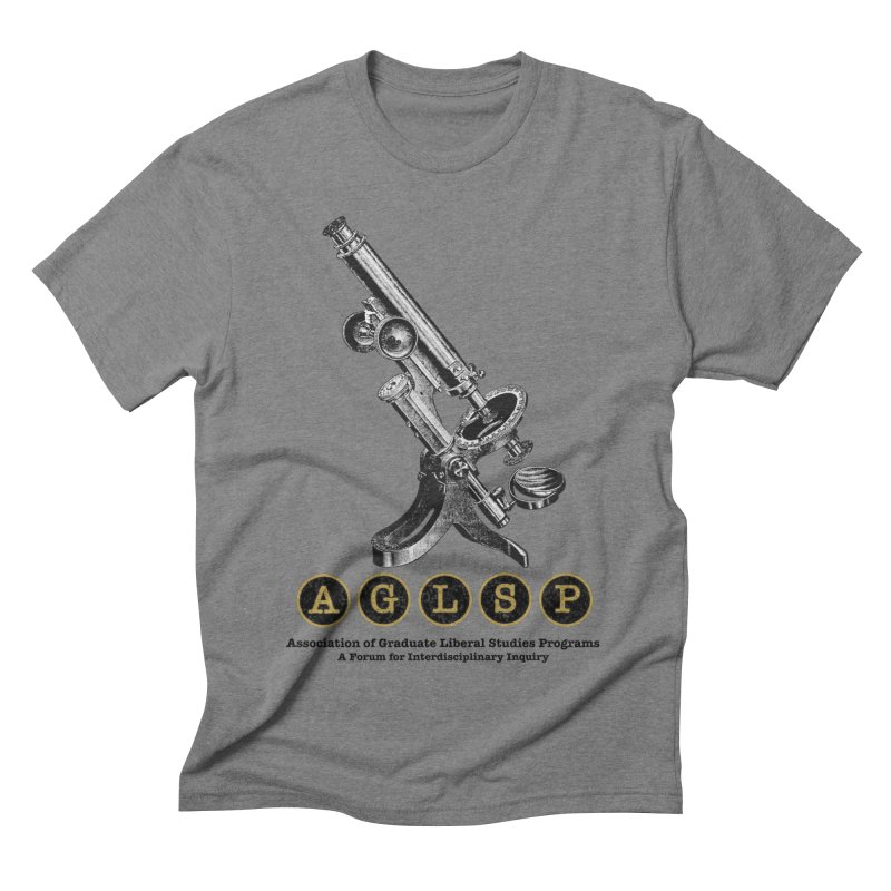 Microscopes Are Us! A New AGLSP Design Men's Triblend T-Shirt by AGLSP's Swag Shoppe