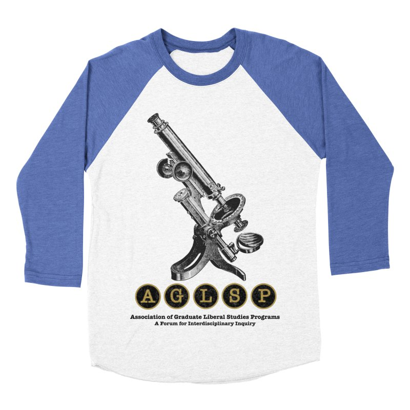 Microscopes Are Us! A New AGLSP Design Women's Baseball Triblend Longsleeve T-Shirt by AGLSP's Swag Shoppe