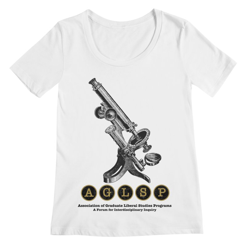 Microscopes Are Us! A New AGLSP Design Women's Regular Scoop Neck by AGLSP's Swag Shoppe