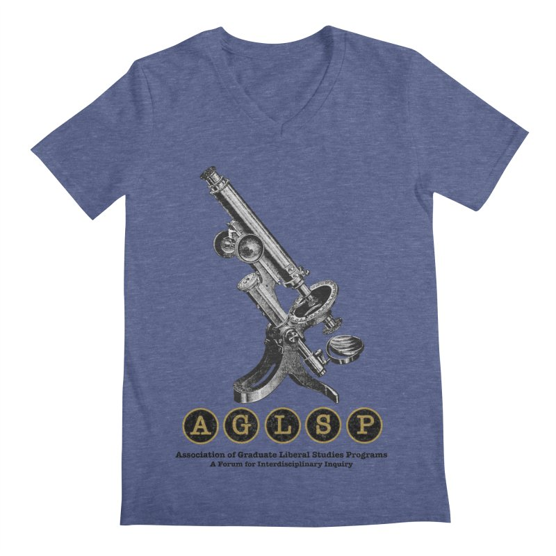 Microscopes Are Us! A New AGLSP Design Men's Regular V-Neck by AGLSP's Swag Shoppe