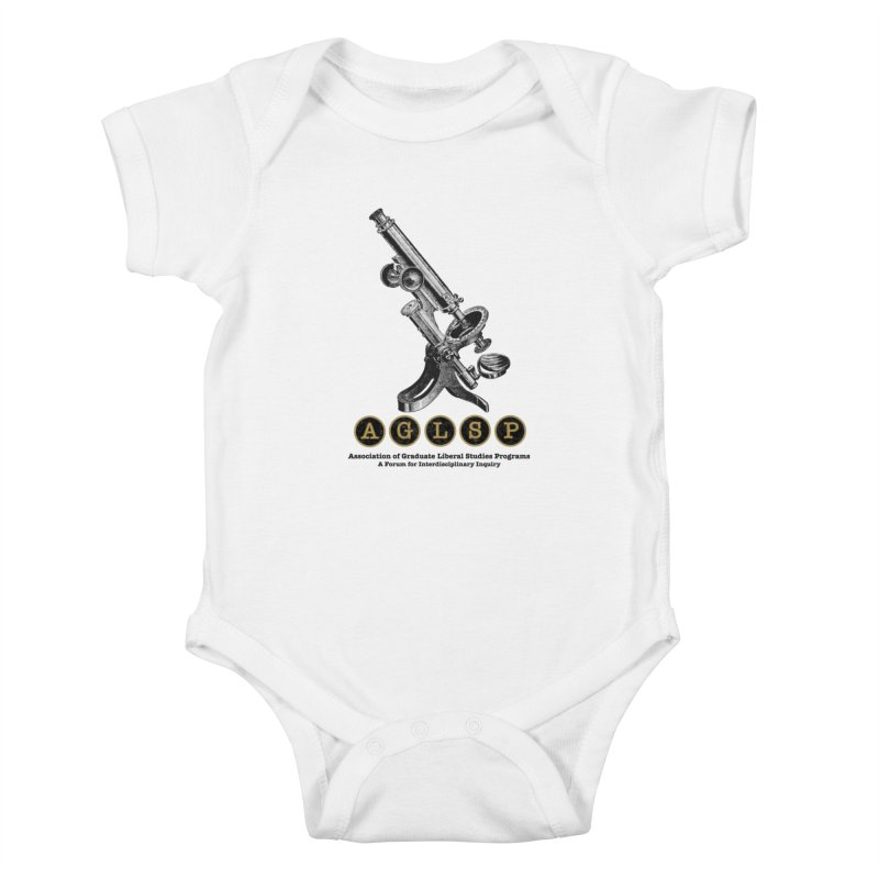 Microscopes Are Us! A New AGLSP Design Kids Baby Bodysuit by AGLSP's Swag Shoppe