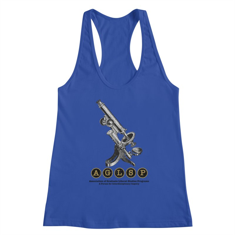 Microscopes Are Us! A New AGLSP Design Women's Racerback Tank by AGLSP's Swag Shoppe