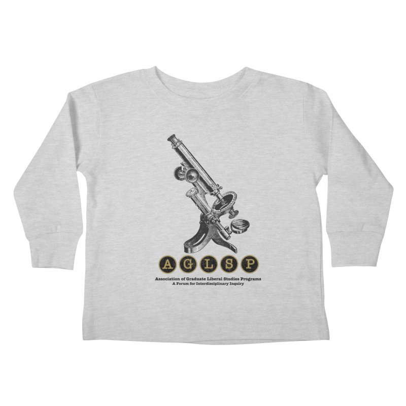 Microscopes Are Us! A New AGLSP Design Kids Toddler Longsleeve T-Shirt by AGLSP's Swag Shoppe
