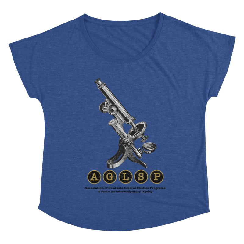 Microscopes Are Us! A New AGLSP Design Women's Dolman Scoop Neck by AGLSP's Swag Shoppe