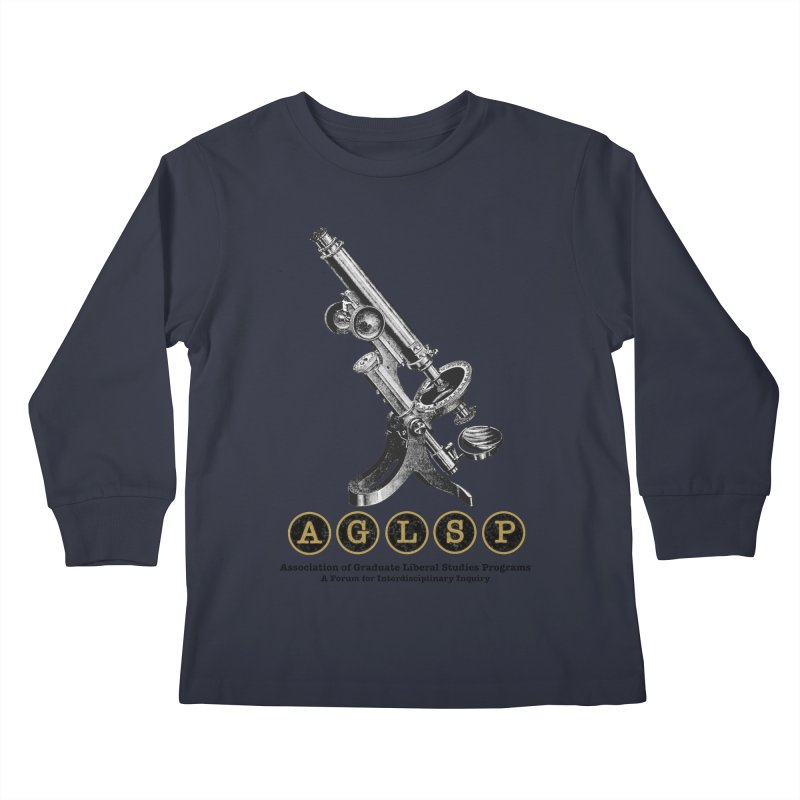 Microscopes Are Us! A New AGLSP Design Kids Longsleeve T-Shirt by AGLSP's Swag Shoppe
