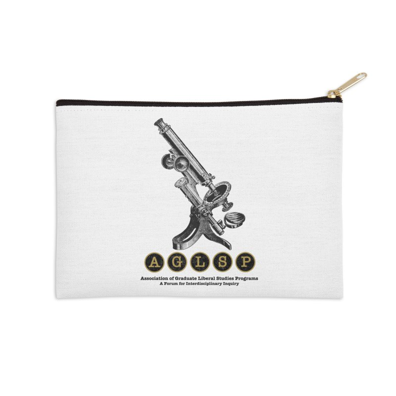 Microscopes Are Us! A New AGLSP Design Accessories Zip Pouch by AGLSP's Swag Shoppe