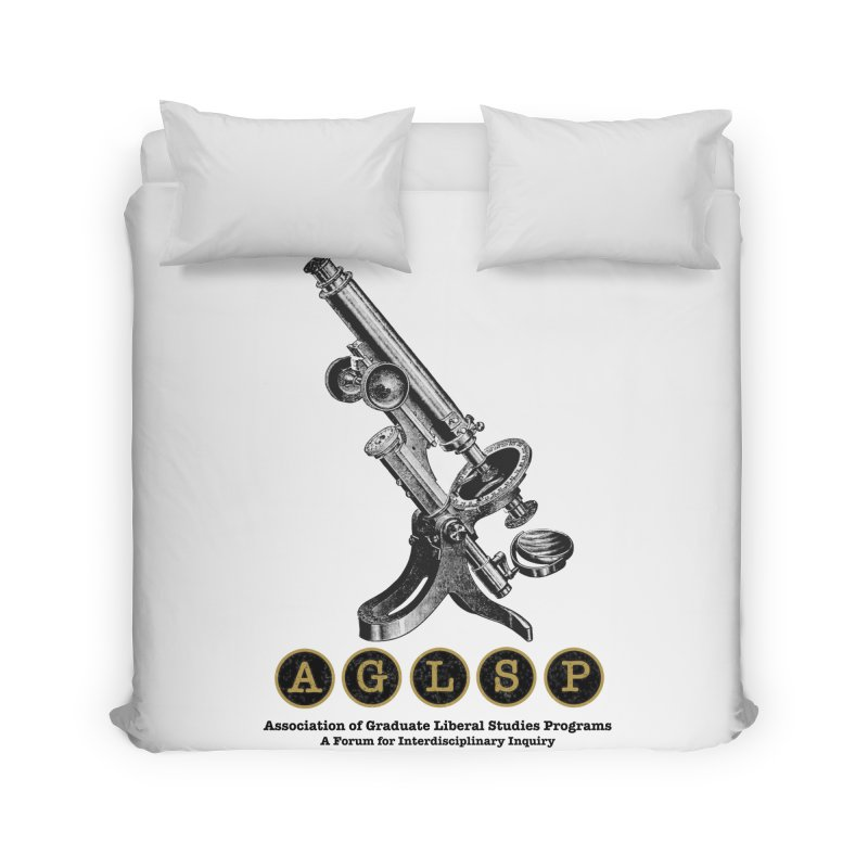 Microscopes Are Us! A New AGLSP Design Home Duvet by AGLSP's Swag Shoppe