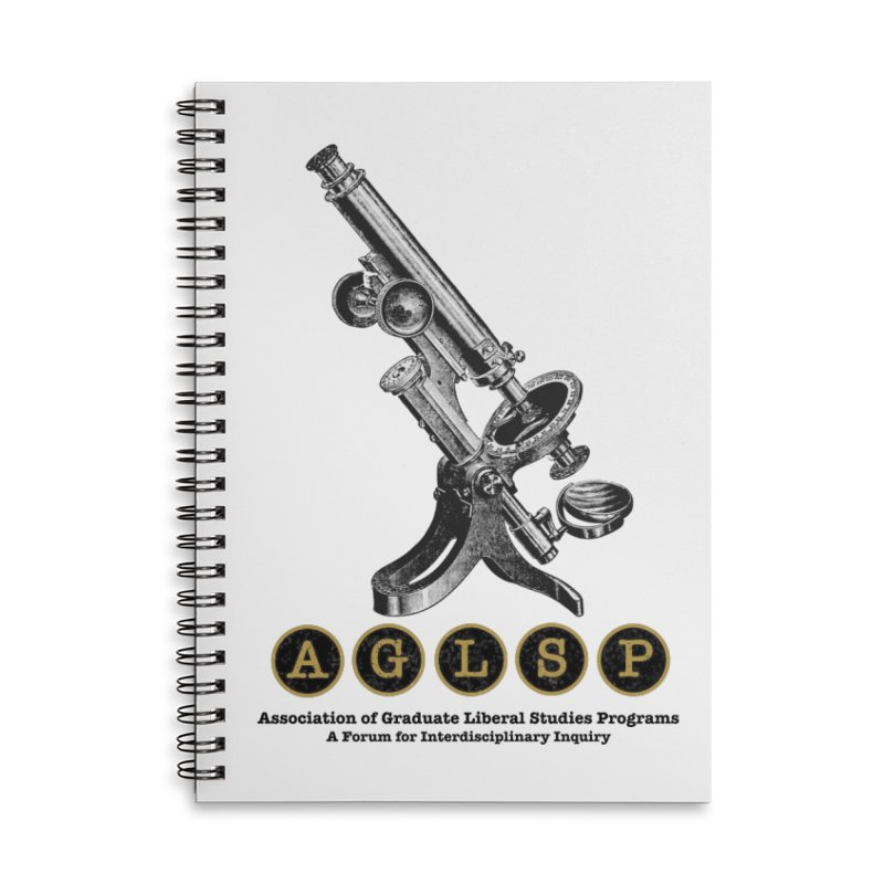 Microscopes Are Us! A New AGLSP Design Accessories Lined Spiral Notebook by AGLSP's Swag Shoppe