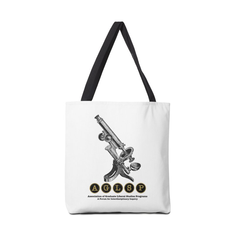 Microscopes Are Us! A New AGLSP Design Accessories Tote Bag Bag by AGLSP's Swag Shoppe