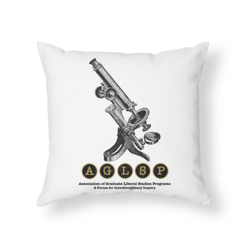 Microscopes Are Us! A New AGLSP Design Home Throw Pillow by AGLSP's Swag Shoppe