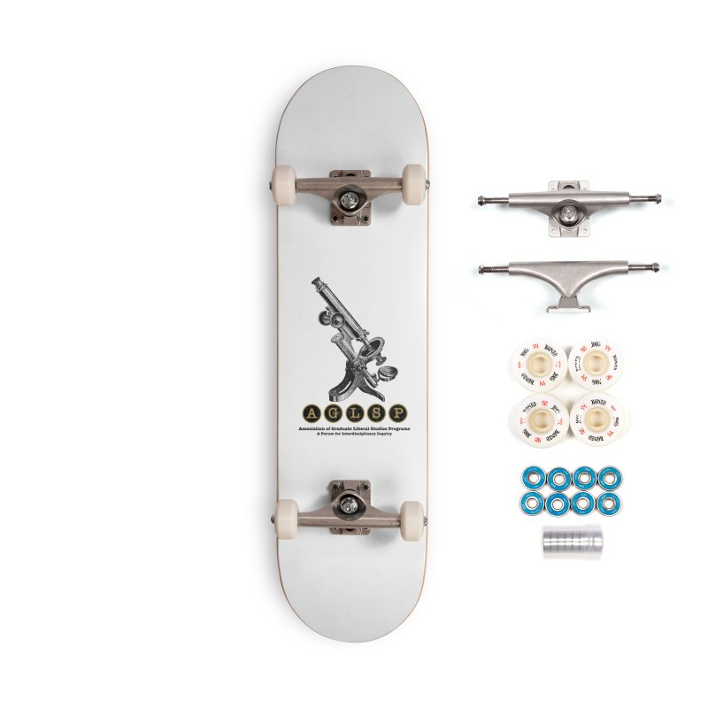 Microscopes Are Us! A New AGLSP Design Accessories Complete - Premium Skateboard by AGLSP's Swag Shoppe