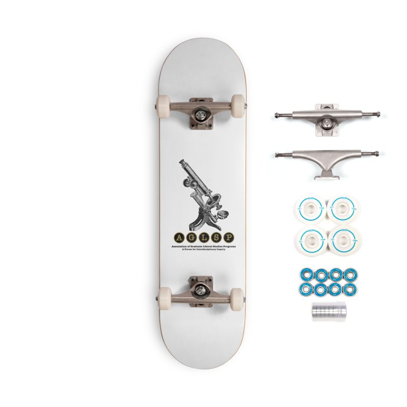 Microscopes Are Us! A New AGLSP Design Accessories Complete - Basic Skateboard by AGLSP's Swag Shoppe