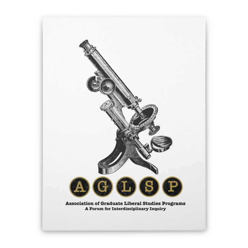 Microscopes Are Us! A New AGLSP Design Home Stretched Canvas by AGLSP's Swag Shoppe