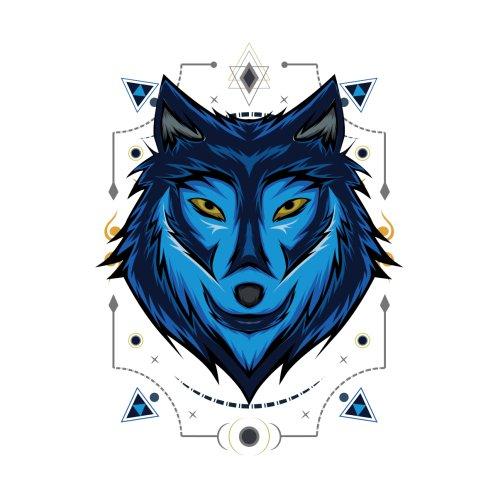 Design for Wolf face vector design. Wolf mascot vector art.