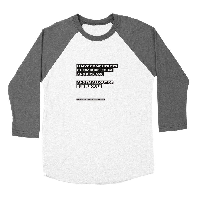 Kick Ass Bubblegum Women's Longsleeve T-Shirt by agostinho's Artist Shop