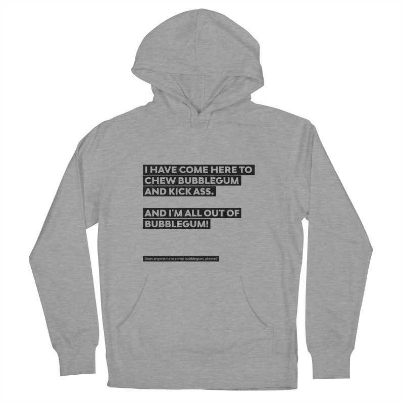 Kick Ass Bubblegum Men's Pullover Hoody by agostinho's Artist Shop