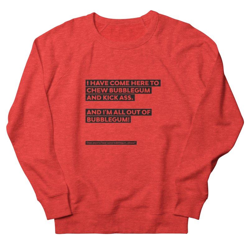 Kick Ass Bubblegum Women's Sweatshirt by agostinho's Artist Shop