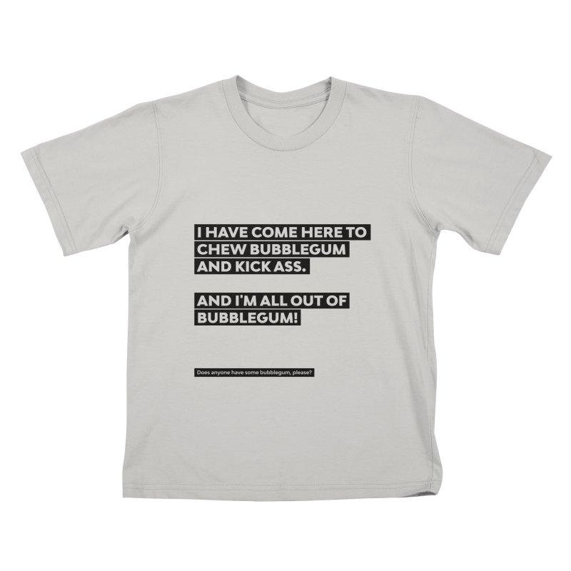 Kick Ass Bubblegum Kids T-shirt by agostinho's Artist Shop