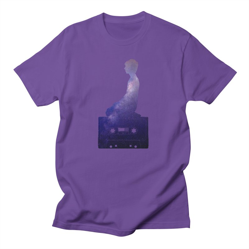 Om.usic Men's T-Shirt by agostinho's Artist Shop