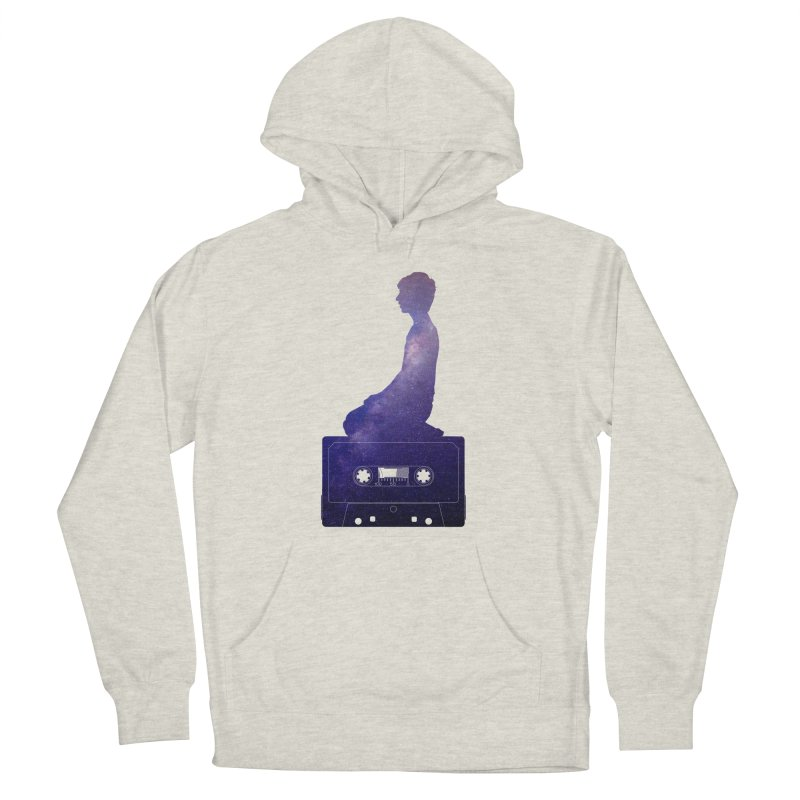 Om.usic Men's French Terry Pullover Hoody by agostinho's Artist Shop