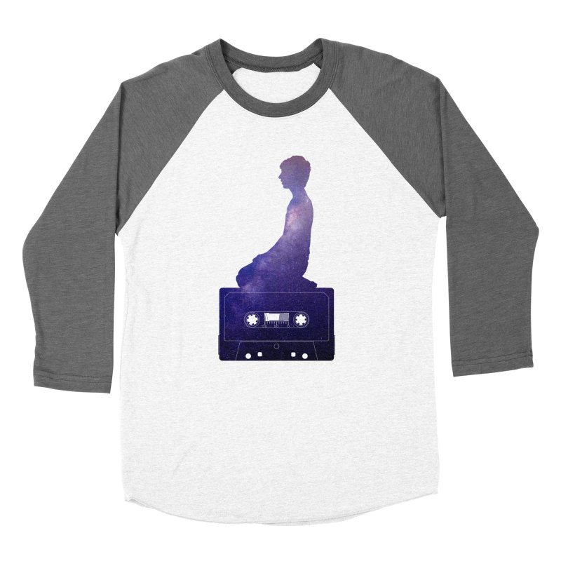 Om.usic Women's Baseball Triblend T-Shirt by agostinho's Artist Shop
