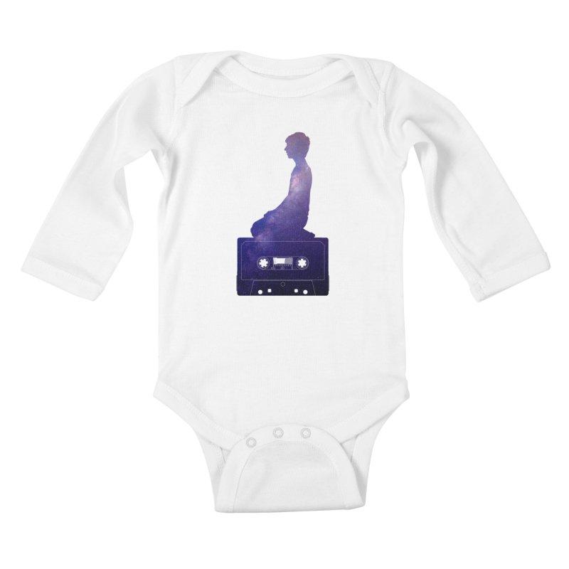 Om.usic Kids Baby Longsleeve Bodysuit by agostinho's Artist Shop