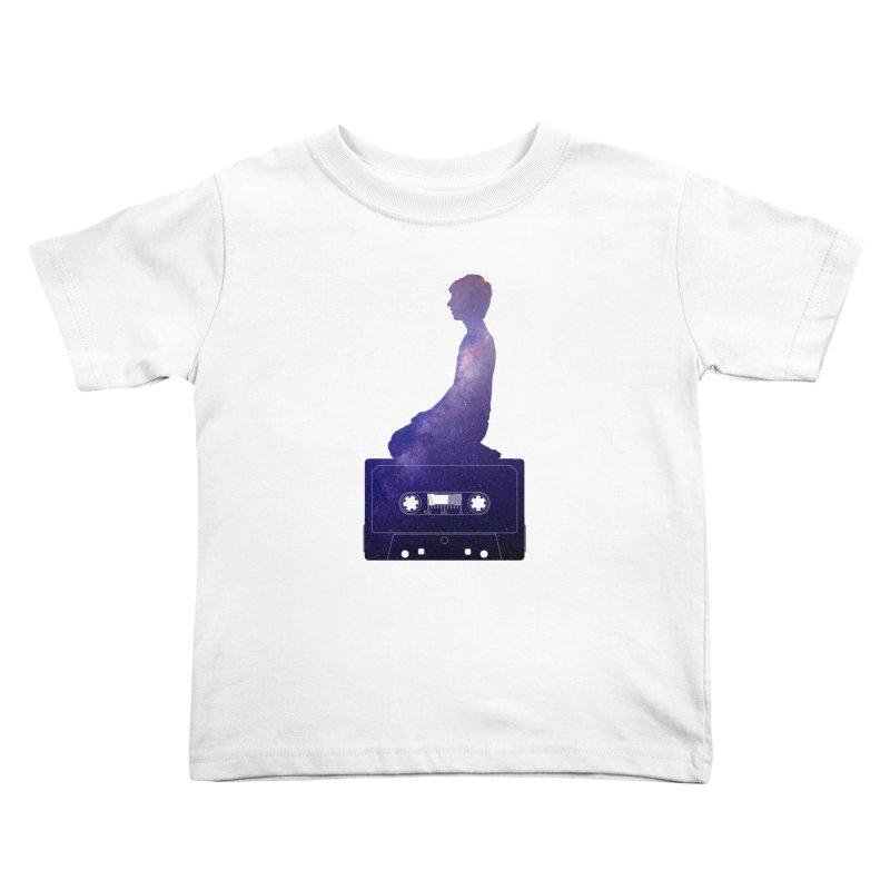Om.usic Kids Toddler T-Shirt by agostinho's Artist Shop