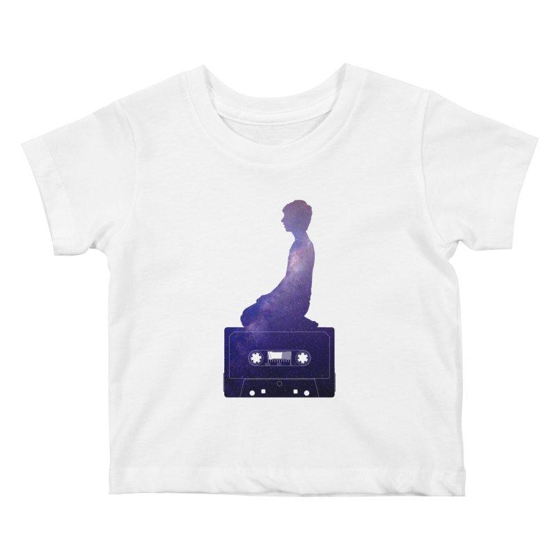 Om.usic Kids Baby T-Shirt by agostinho's Artist Shop