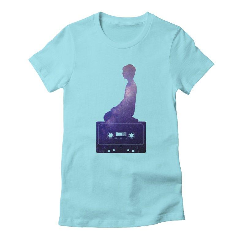 Om.usic Women's T-Shirt by agostinho's Artist Shop
