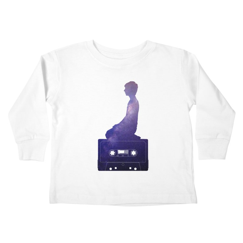 Om.usic Kids Toddler Longsleeve T-Shirt by agostinho's Artist Shop