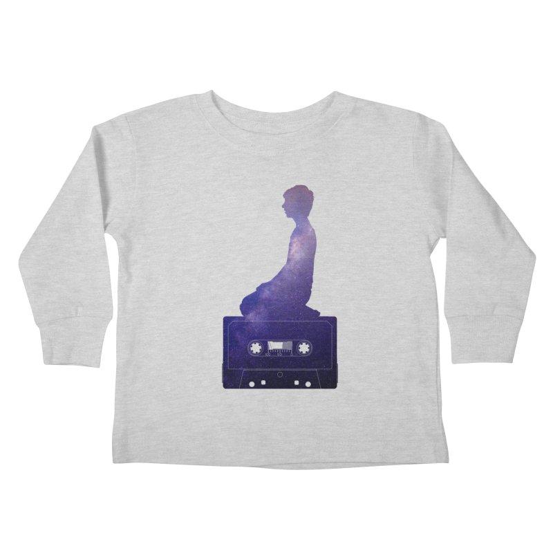 Om.usic Kids Toddler Longsleeve T-Shirt by agostinho's Artist Shop
