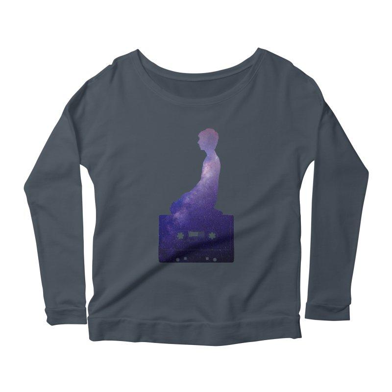 Om.usic Women's Longsleeve T-Shirt by agostinho's Artist Shop