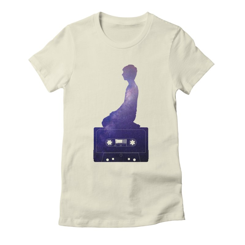 Om.usic Women's T-Shirt by agostinho's Artist Shop