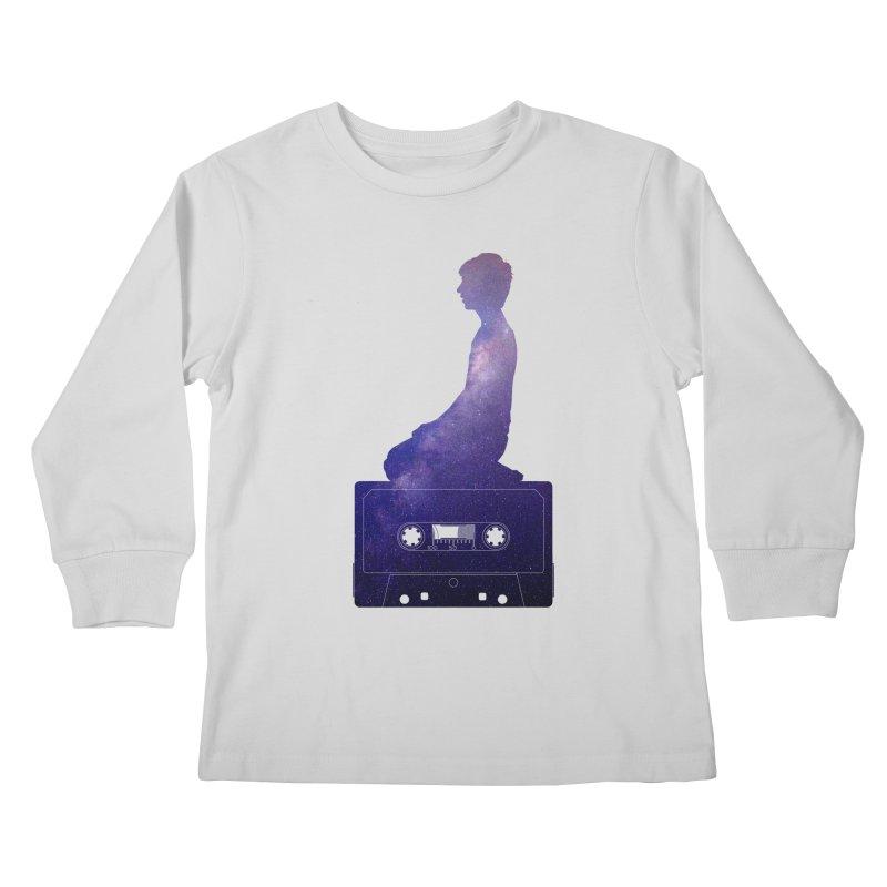 Om.usic Kids Longsleeve T-Shirt by agostinho's Artist Shop
