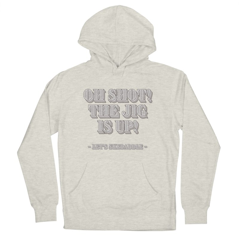 Let's skedaddle! Men's French Terry Pullover Hoody by agostinho's Artist Shop