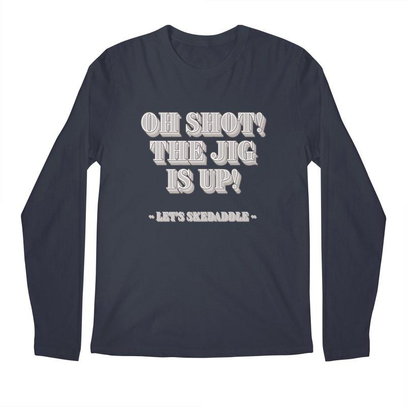 Let's skedaddle! Men's Longsleeve T-Shirt by agostinho's Artist Shop