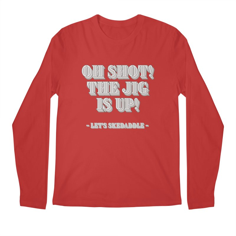 Let's skedaddle! Men's Regular Longsleeve T-Shirt by agostinho's Artist Shop