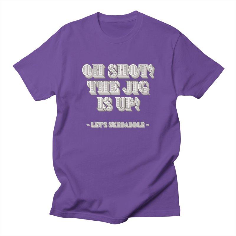 Let's skedaddle! Men's T-shirt by agostinho's Artist Shop