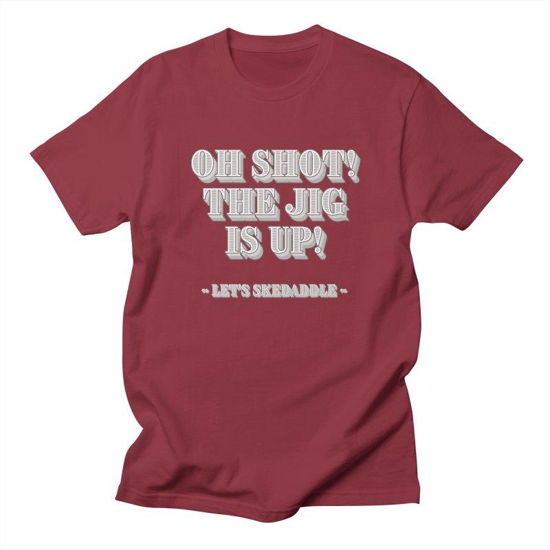Let's skedaddle! Men's Regular T-Shirt by agostinho's Artist Shop