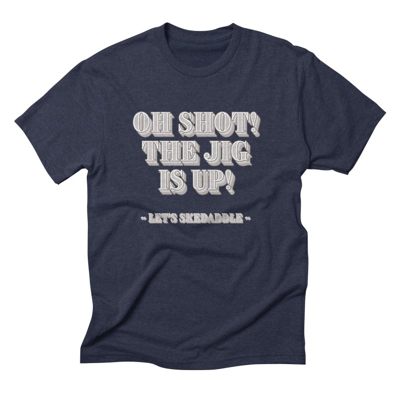 Let's skedaddle! Men's T-Shirt by agostinho's Artist Shop